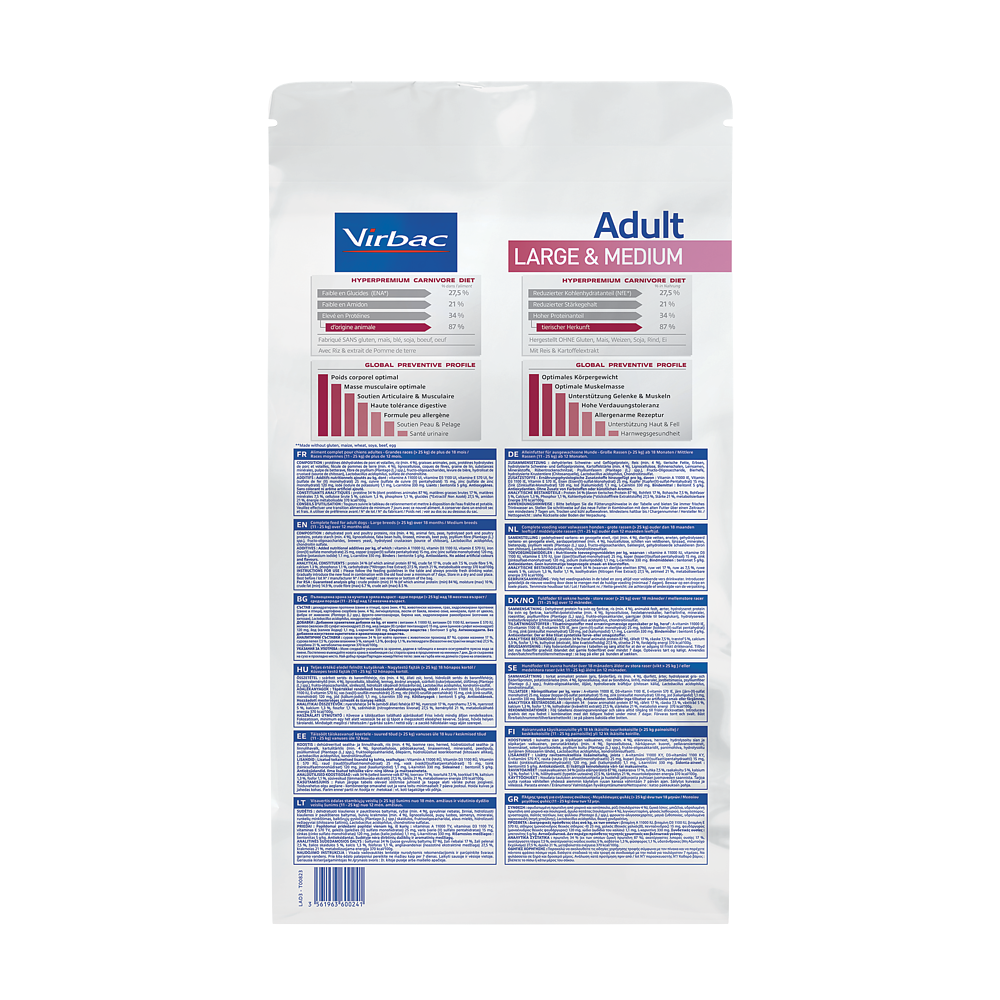 Adult Dog Large & Medium de Virbac Image 2