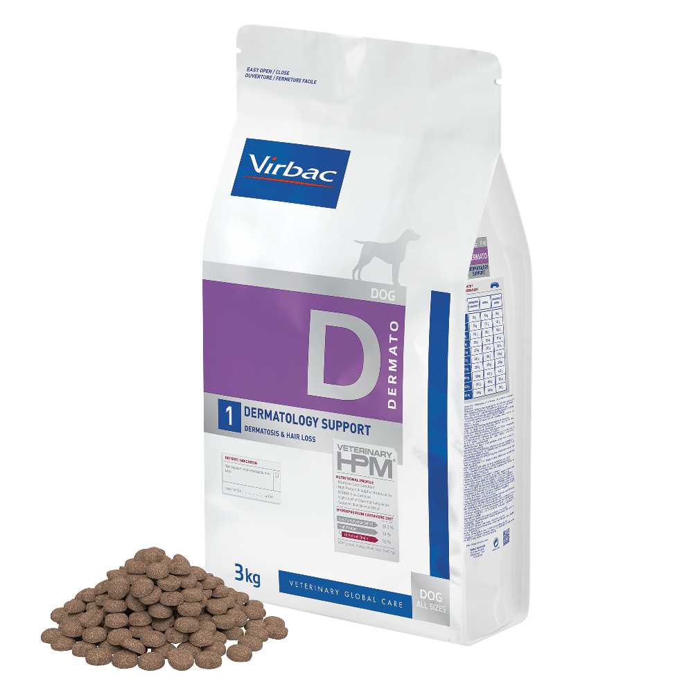 Dog Dermatology Support de Virbac