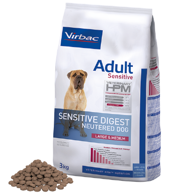 Adult Sensitive Digest Neutered Dog Large & Medium de Virbac